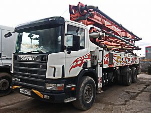 Scania Everdigm Auto Concrete Pump